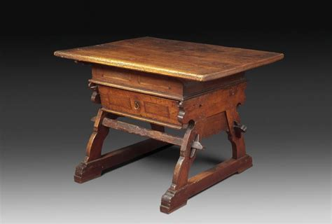 gabrielle table l swiss renaissance banker table for at 1stdibs 1148