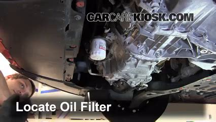 oil filter change ford focus    ford