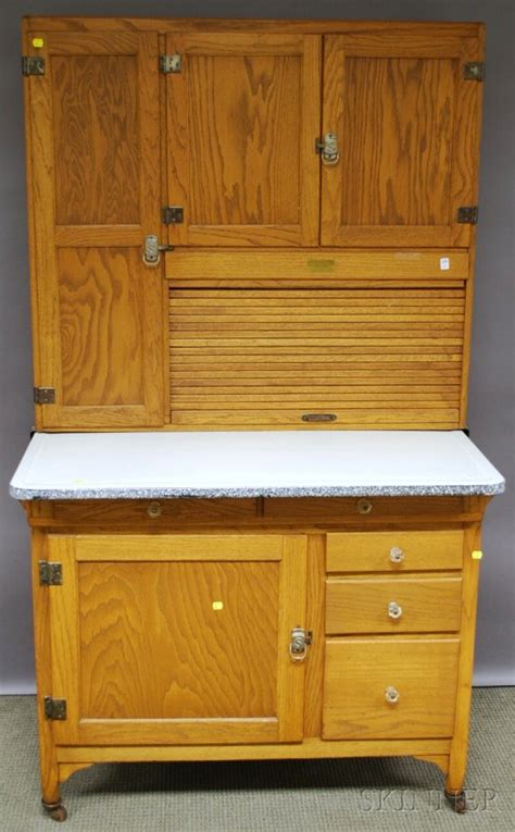 Sellers Hoosier Cabinet Pictures by 543 Sellers Oak Tambour Hoosier Cabinet Indiana The