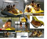 Self Bailing Pedal Boat by Electric Slide Self Bailing Pedal Boat