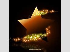 Estrella dorada brillante Descargar Vectores gratis