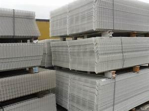 Panneau De Grillage Rigide : panneau grillage rigide blanc ja trax destockage grossiste ~ Dailycaller-alerts.com Idées de Décoration