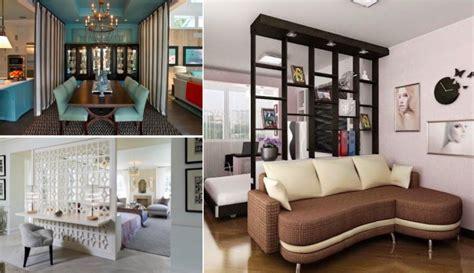 meubles de separation pour  espace de vie organise