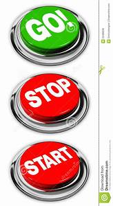 Stop And Go : go stop and start buttons royalty free stock images image 23489239 ~ Medecine-chirurgie-esthetiques.com Avis de Voitures