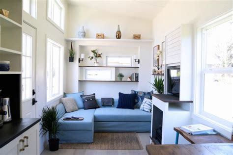 Handcrafted Movement's Coastal Craftsman tiny house is big