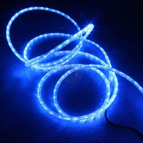 48m blue led rope light static chasing tube outdoor