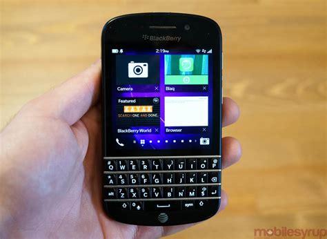 blackberry q10 blackberry q10 review mobilesyrup