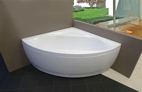Discount Corner Tubs by Aquatica Wht Acrylic Corner Bathtub