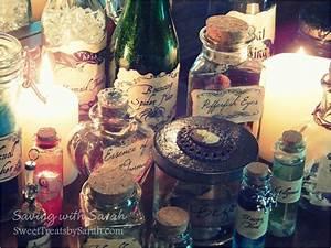 Saving with Sarah: Harry Potter Potion Bottles DIY + FREE