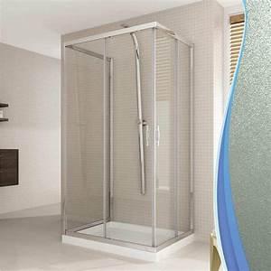 Cabine De Douche Verre Opaque : cabine douche 3 c t s 70x70x70 cm h198 opaque mod ~ Edinachiropracticcenter.com Idées de Décoration