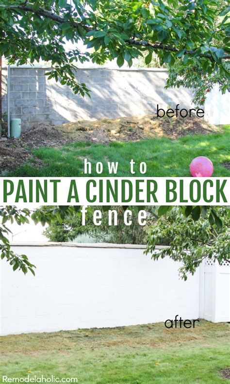 how to paint a l painting cinder block