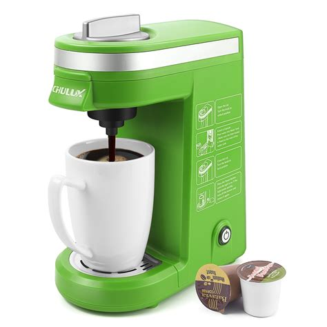 You can save by buying bulk but you're locked into that specific type of capsule in order to make use of your coffee maker. CHULUX Single Serve Coffee Maker with Removable Drip Tray,Green