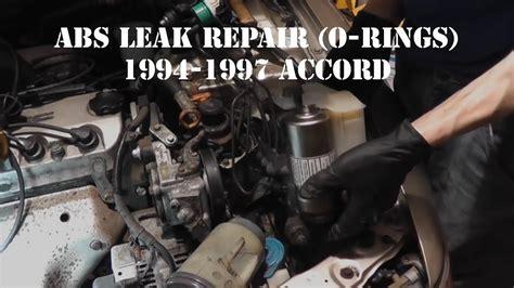 accord abs leak accumulator  pump  ring