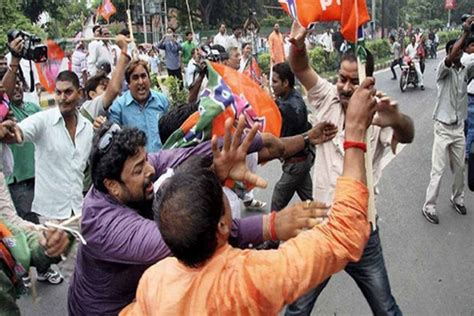 BJP, TMC Workers Clash Twice In Kolkata, Opposition Party ...
