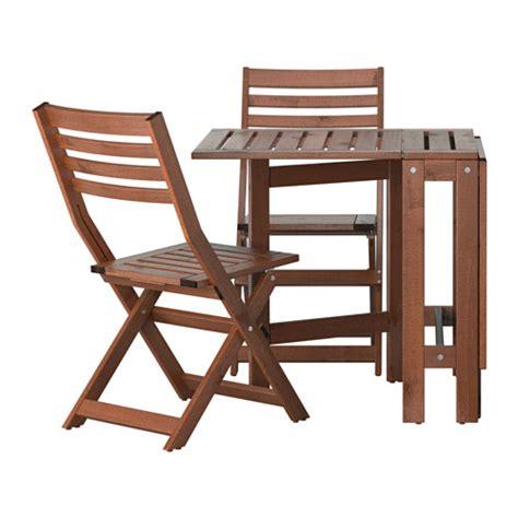 chaise pliante exterieur äpplarö table 2 chaises pliantes extérieur ikea