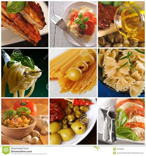 cuisine free food collage royalty free stock photos image