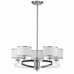 Safavieh lenora drum light chrome pendant chandelier