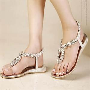 17 best images about wedding shoes on pinterest sparkly With flat dress sandals for weddings