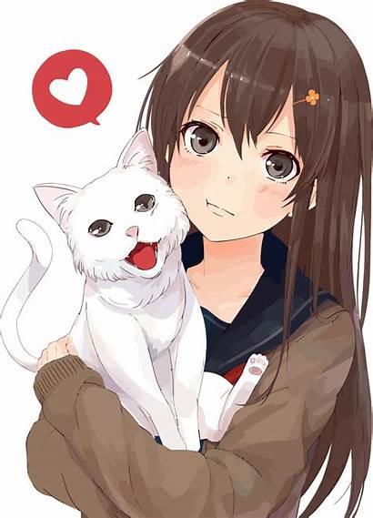 Anime Cat Svg Cc Wikipedia