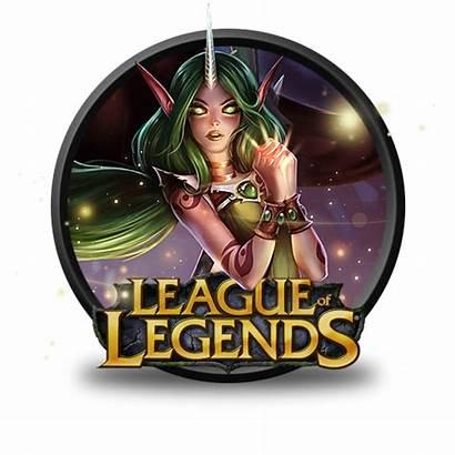 League Legends Icon Soraka Dryad Clipart Icons
