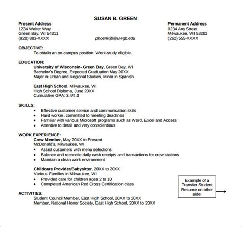 Entry Level Customer Service Resume Template by Sle Customer Service Representative Resume 9 Free Documents In Pdf