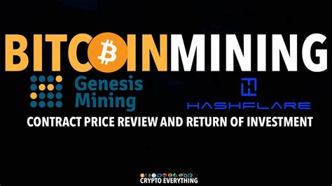 genesis mining review genesis mining hashflare bitcoin contract price review