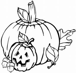 Pumpkin Outline Clipart Black And White | Clipart Panda ...