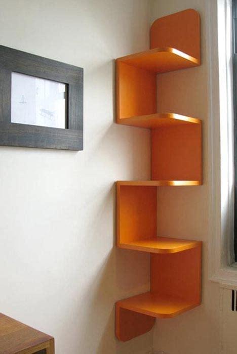 unique cool corner designs 10 creative wall shelf design ideas