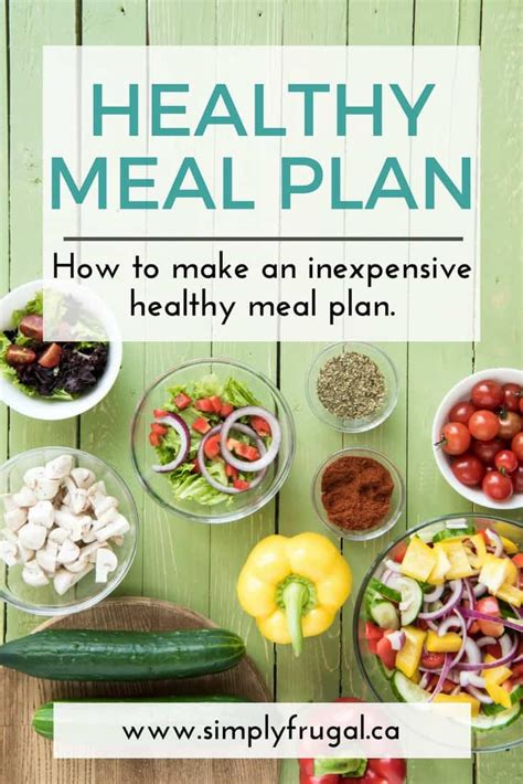 inexpensive healthy meal plan