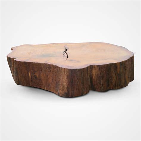 wood slice coffee table jaqueira wood slice coffee table rotsen furniture