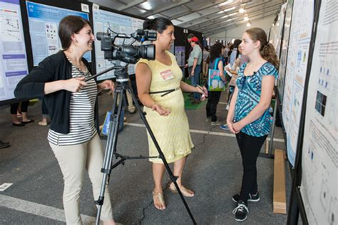 spring research festival highlighted  whag tv poster