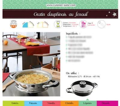 fiche recette plat chaud gratin dauphinois au fenouil cuisine saine