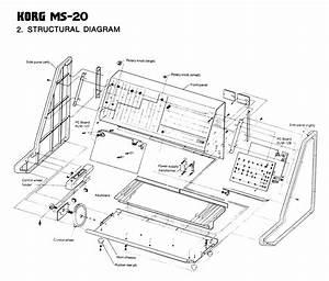 Korg Ms-20 Synthesizer