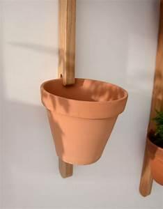 Support Pot De Fleur : support mural xpot pour 2 pots de fleurs ou tag res h ~ Dailycaller-alerts.com Idées de Décoration