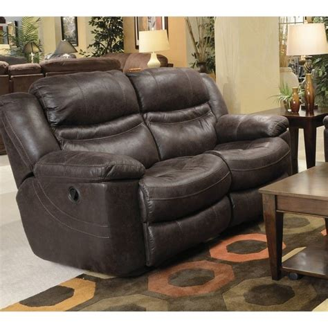 catnapper valiant rocking reclining loveseat  coffee