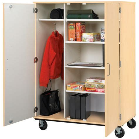 mobile wardrobe storage cabinet by