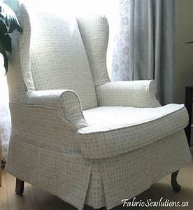 slipcover for chair homesfeed With furniture cover for wingback chair