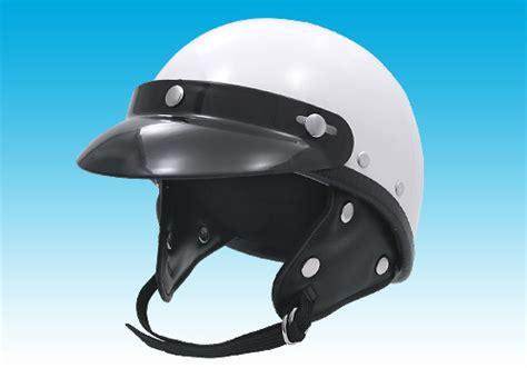 Easyriders Police Type Helmet Round With Visor
