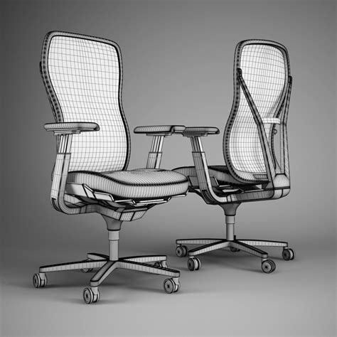 Hardoy Chair 3d Model by Office Chair 51 3d Model Max Obj Fbx C4d Cgtrader