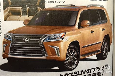 lexus lx   leaked  japanese publication