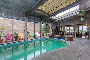Diamond heights home with indoor heated pool and for Indoor pool with retractable roof