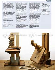 Build Your Own Carving Stand • WoodArchivist
