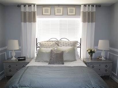 Guest Bedroom Master Rail Chair Silver Bed