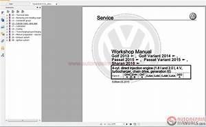 Volkswagen Touran 2016 Workshop Manuals