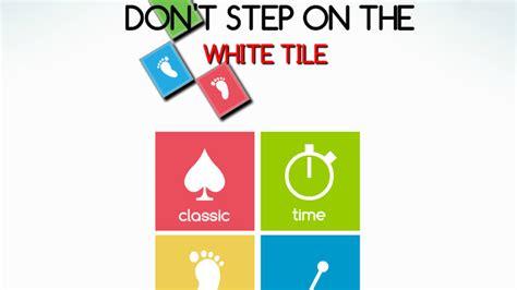 don t step on the white tile don t step on the white tile giochi