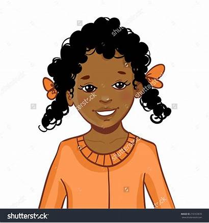 Clipart Hair African American Cartoon Afro Wave