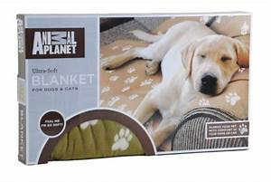 Animal planet ultra soft pet blanket 63quot x 59quot brown for Animal planet dog blanket