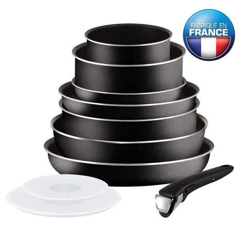 batterie cuisine tefal ingenio tefal ingenio essential batterie de cuisine 10 pièces l2008802 16 20 24 26 28cm tous feux sauf