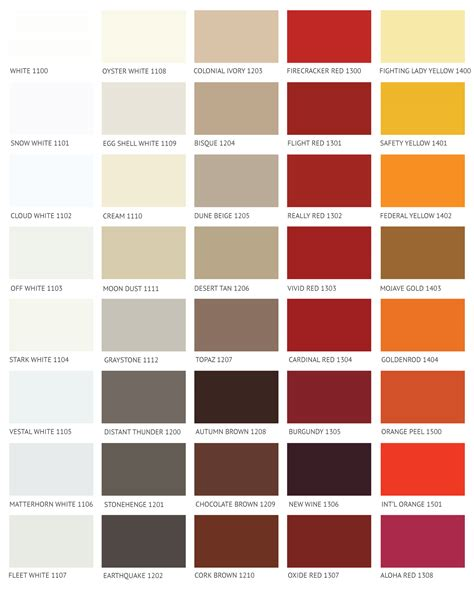 ivory paint color chart paint color ideas