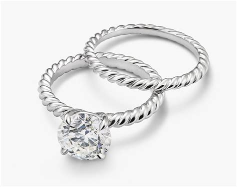 A David Yurman Cable Engagement Ring Imposter • Engagement